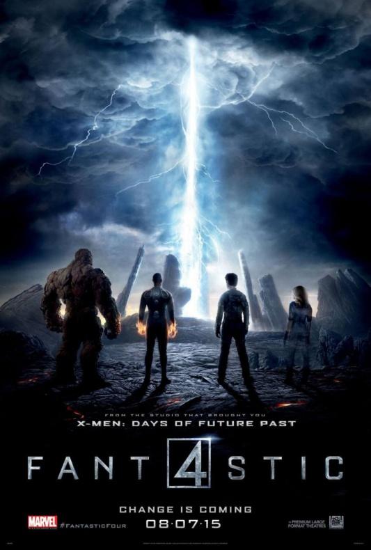 Los 4 Fantásticos - póster 2
