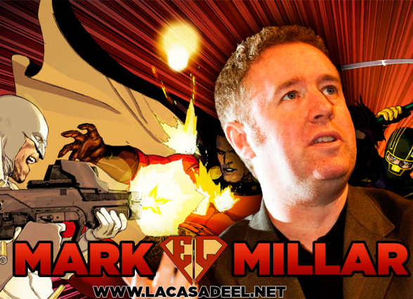Podcast LCDE Mark Millar