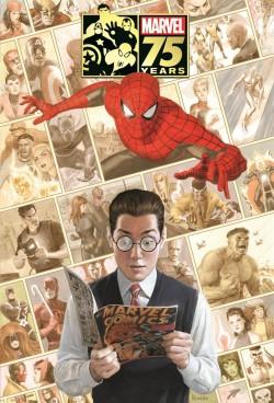 Marvel 75 Años portada