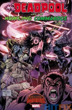 Mrs Deadpool and the Howling Commandos Portada