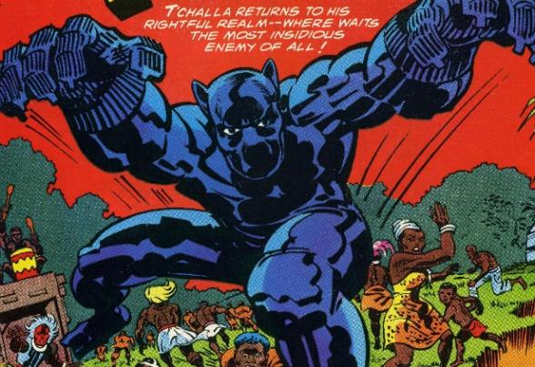 Pantera Negra portada