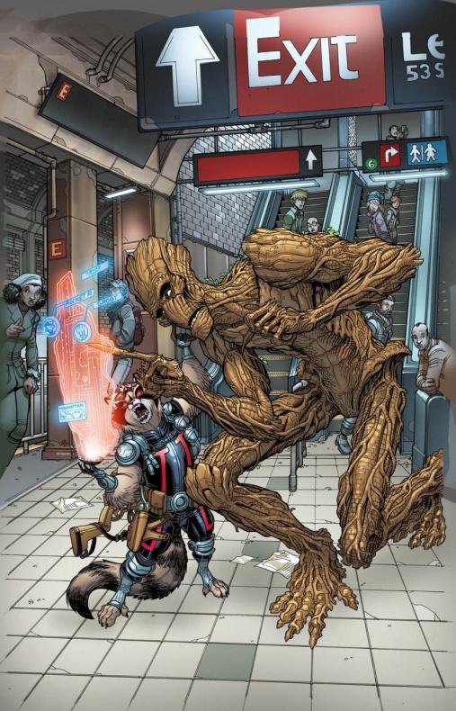 Portada alternativa Marvel 4