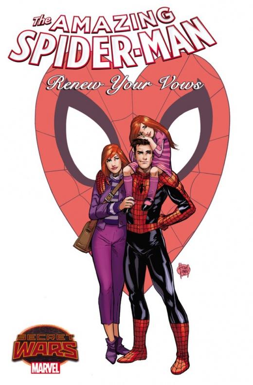 Renew Your Vows Marvel para Secret Wars previa 01