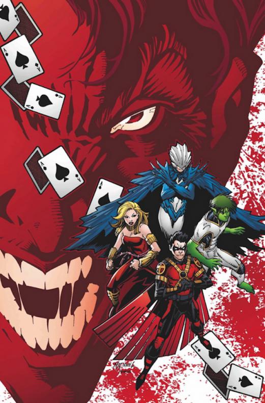 Teen Titans #9 por Scott McDaniel y R&T Horie