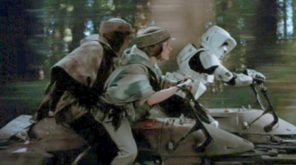 Speeder Bike Star Wars