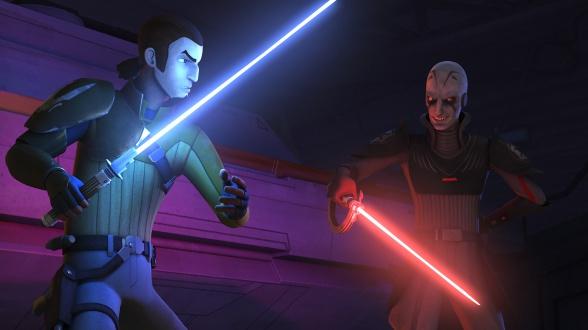 Star Wars Rebels Kanan Inquisidor