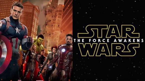 Star Wars: el despertar de la fuerza tráiler en Vengadores: la era de Ultron