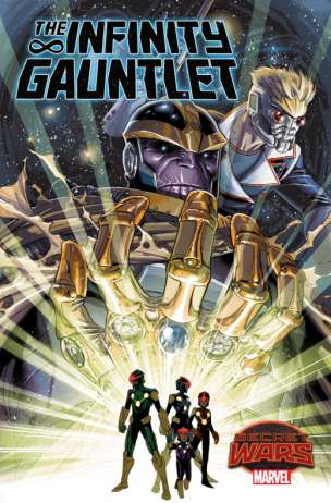 The Infinity Gauntlet Portada