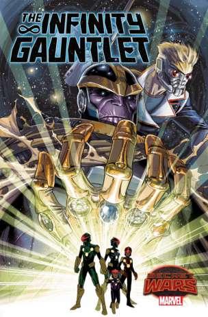 The Infinity Gauntlet Portada