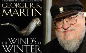 The Winds of Winter book - George R R Martin