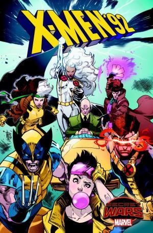 X-Men '92 Secret Wars Portada