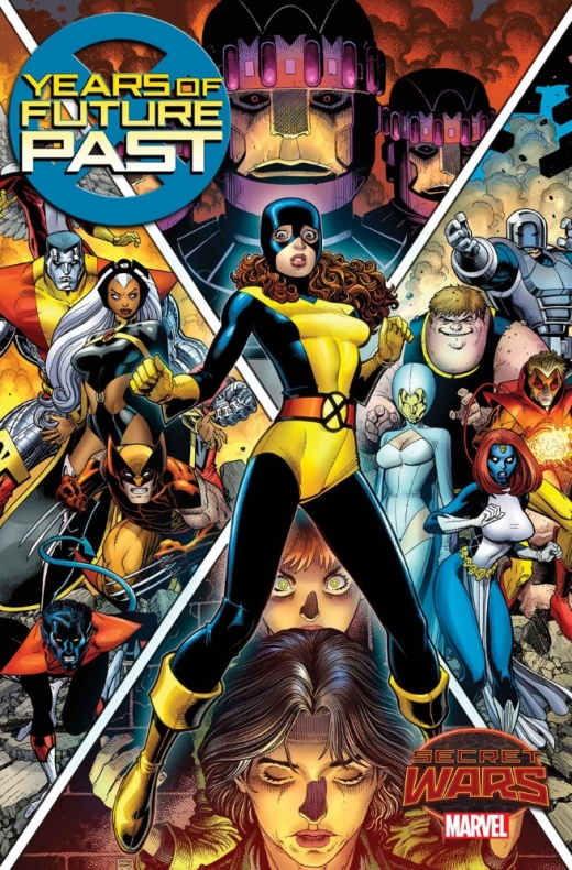 Years of future past X-Men Marvel 01