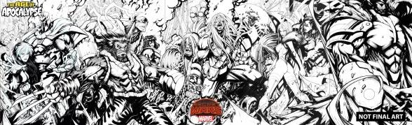 age of apocalypse marvel secret wars poster
