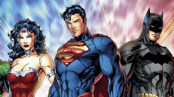 batman superman wonder woman nuevos 52