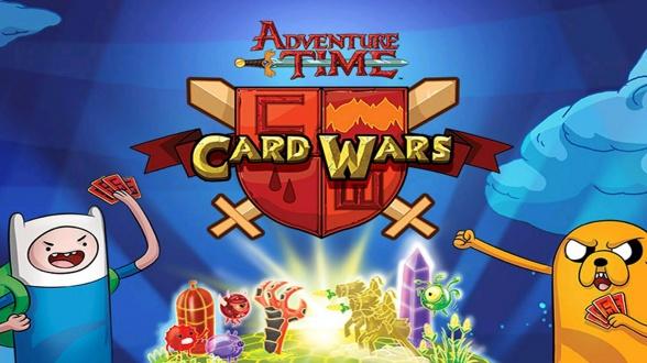 card wars hora de aventuras