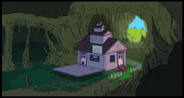 cuevas casa de marceline hora de aventuras