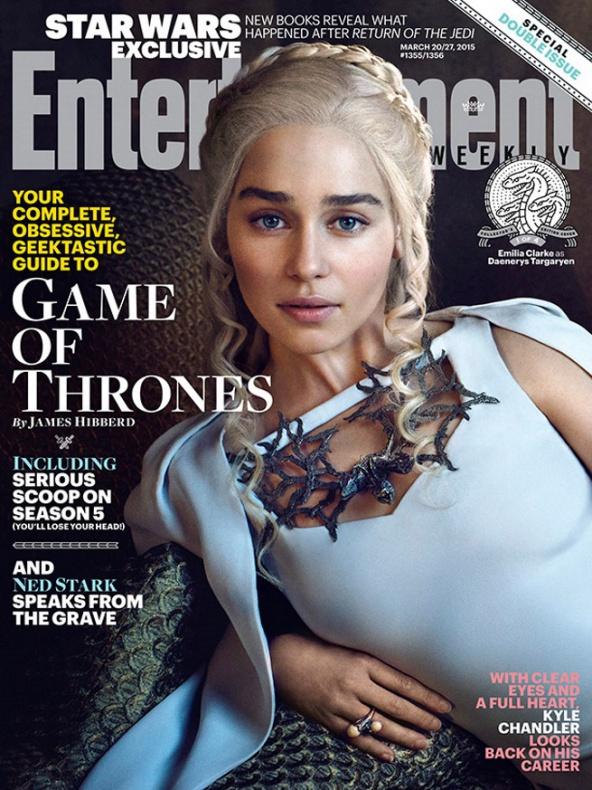 ew juego de tronoes portada daenerys