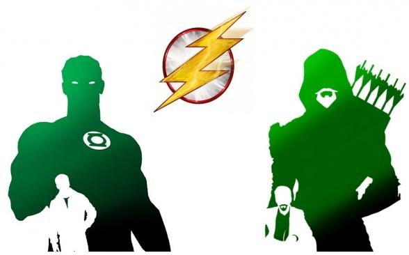 Green Lantern - Arrow - Flash