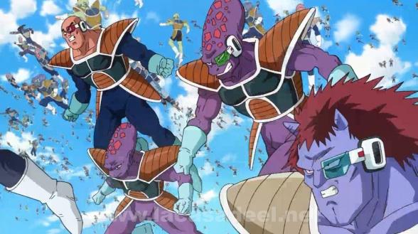 guerreros freezer dragon ball z fukkatsu no f