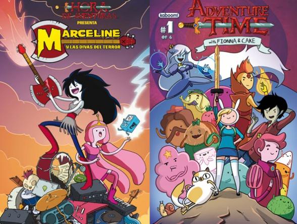 hora de aventuras comics