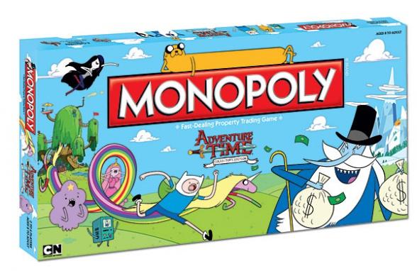 hora de aventuras monopoly