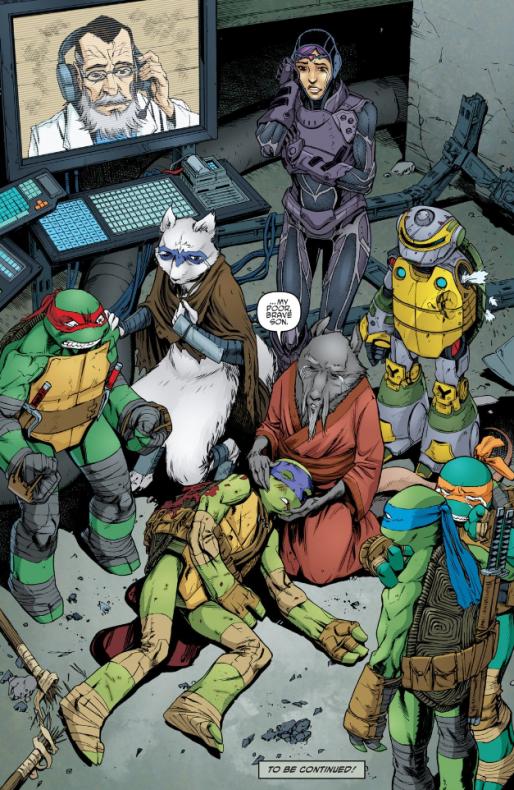 muerte tortugas ninja 3