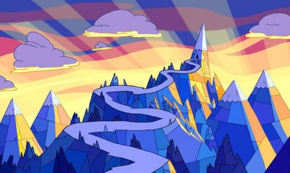 reino de hielo hora de aventuras