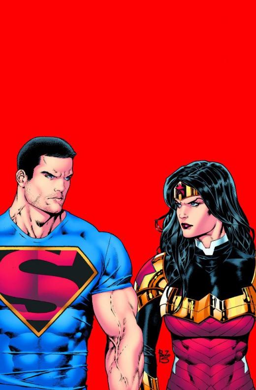superman wonder woman nuevos trajes dc