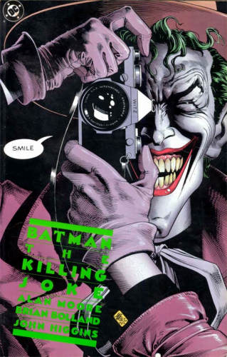 Batman - The killing joke (cover)