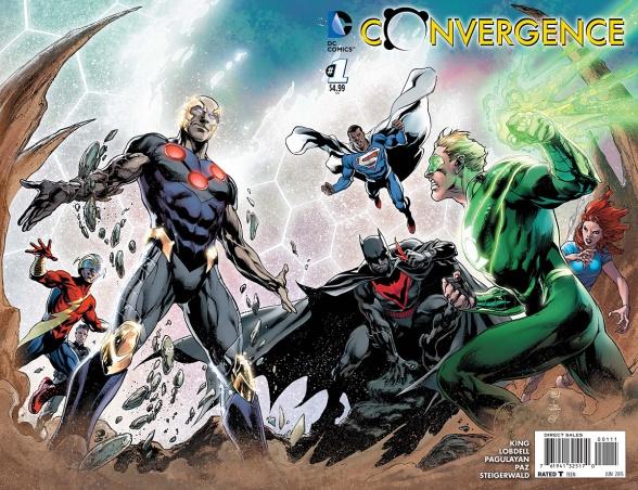 Primer vistazo a 'Convergence' #1, el nuevo evento de DC Comics