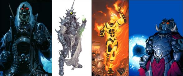Cuatro Jinetes de Apocalipsis