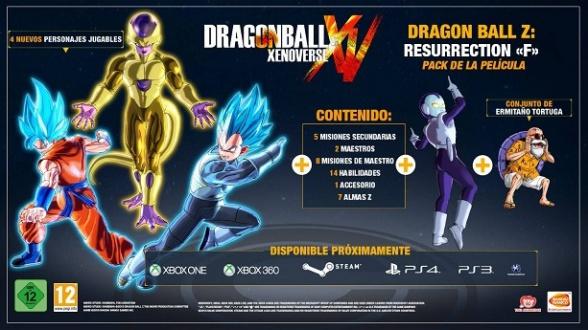 Dragon Ball Xenoverse DLC Resurrection F