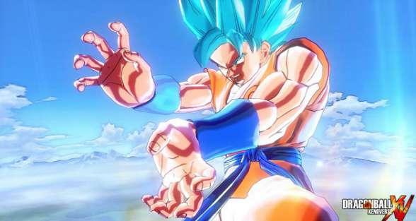 Dragon Ball Xenoverse SSGSS Goku