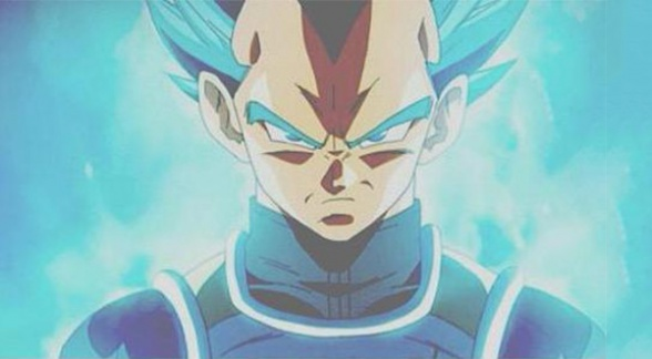 Dragon Ball Z Fukkatsu no F Vegeta super saiyan god super saiyan5