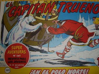 Capitán Trueno en el Polo Norte
