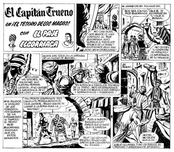 El paje Elgorriaga - Capitán Trueno