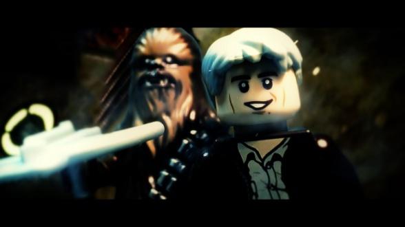 Han Solo y Chewbacca LEGO