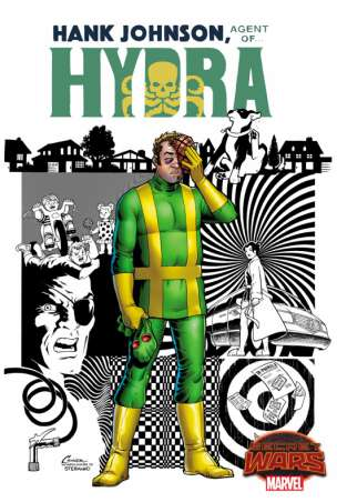 Hank Johnson Agent of HYDRA