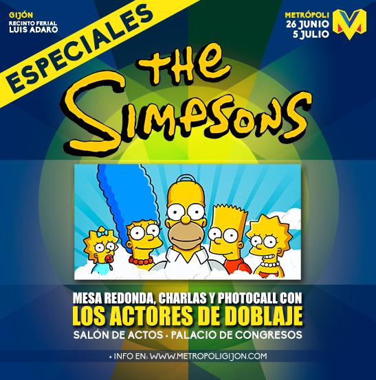 Los Simsons en Metrópoli Comic Con