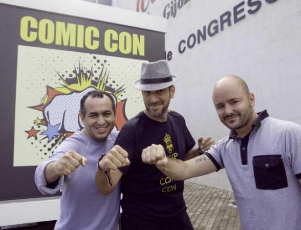 Eddy Barrows, Pepe Caldelas y Marino González