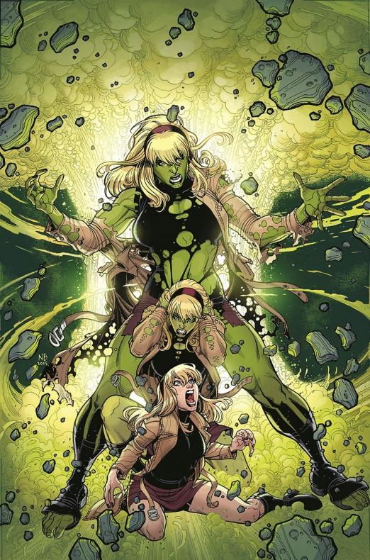 Portada Spider-Gwen Hulk