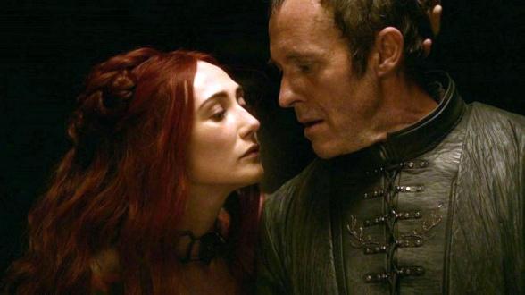 Stannis Baratheon y Melissandre Canción de Hielo y Fuego