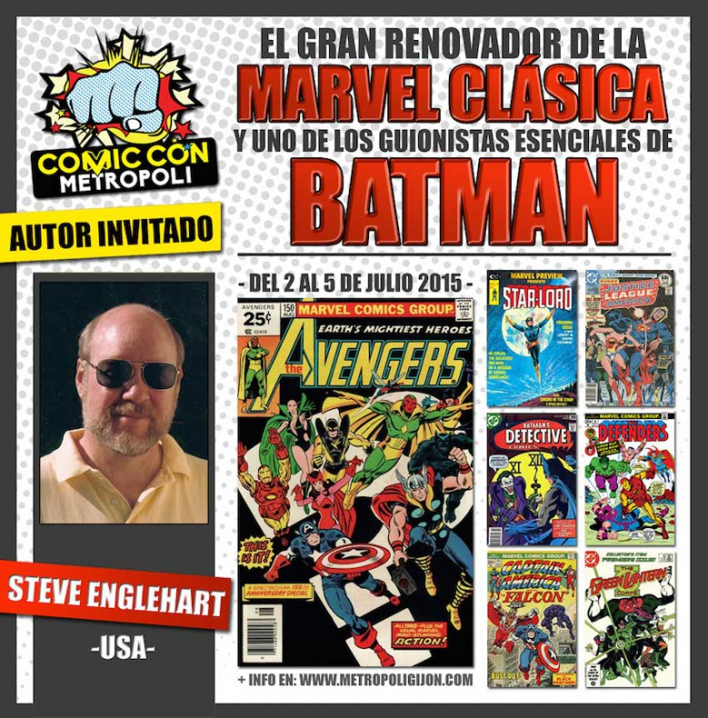 Steve Englehart Metropoli Comic Con