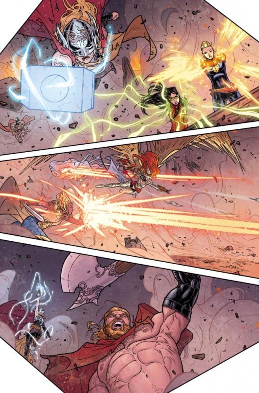 Thor Diosa del Trueno Identidad revelada en el nº8 03