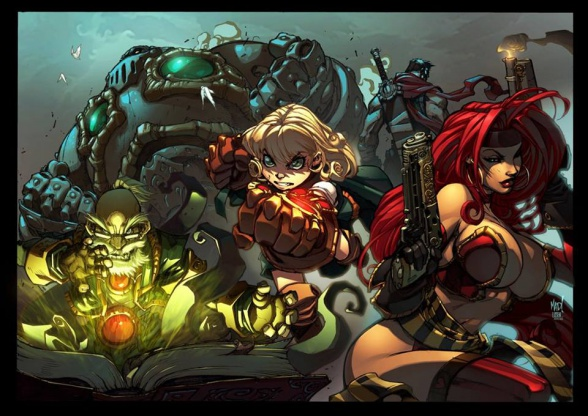 battle-chasers-grupo