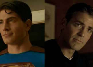 Brandon Routh George Clooney