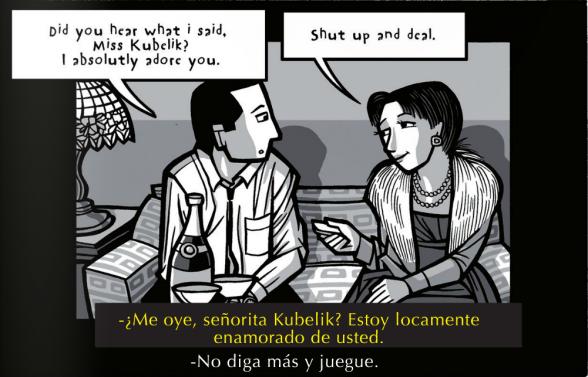 'El apartamento', una de las referencias directas del cómic
