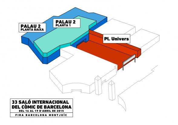 Plano 33 Salón del Cómic
