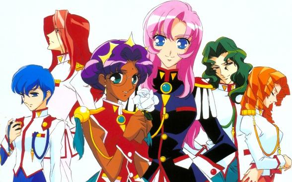 Magical girls: Utena