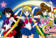 Magical girls: Sailor Moon